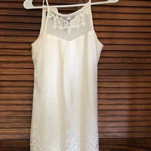 I.N. Off White Lace Dress